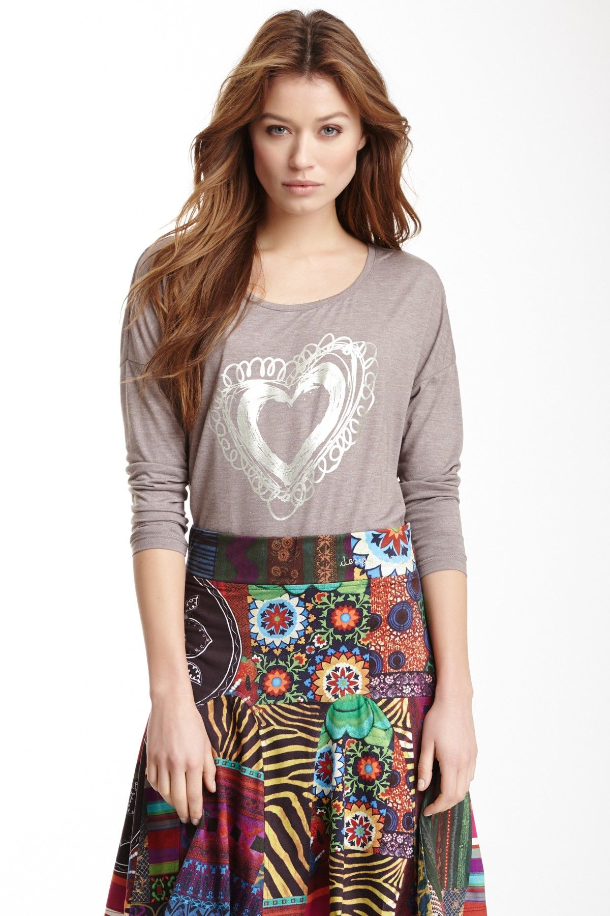 I think we could use our fabric scraps to make this skirt!