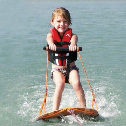 Kids Water Skis >> Airhead Watersports U Ski Waterski Trainer Kids Have Fun And Ski