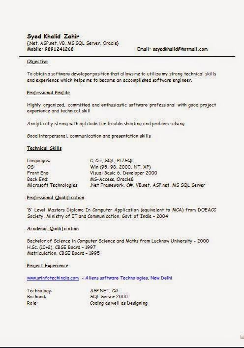modeles de cv Sample Template Example of ExcellentCV / Resume ...