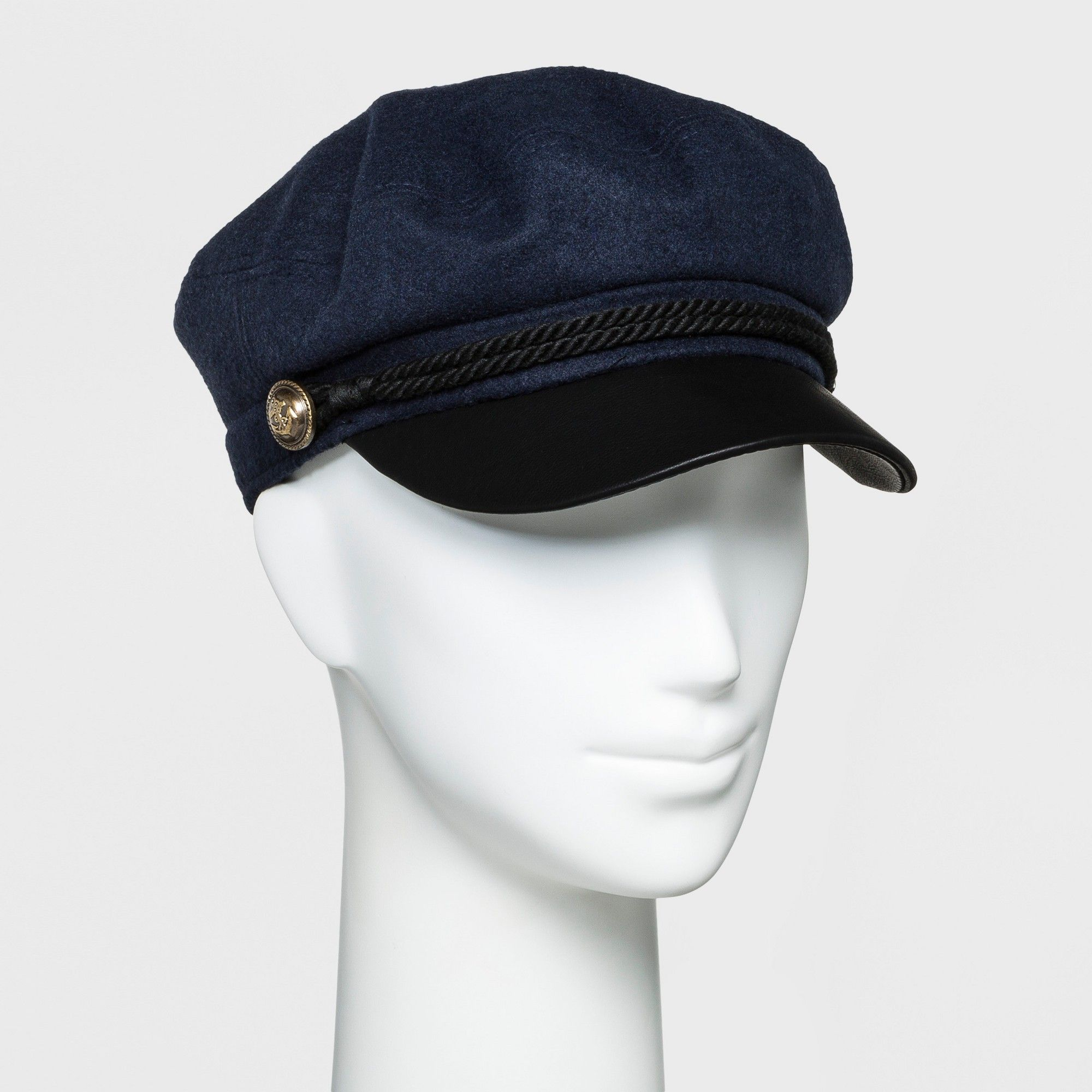 30cb72514fa3fe Women's Newsboy Hat - Universal Thread Navy (Blue) | Products | News ...