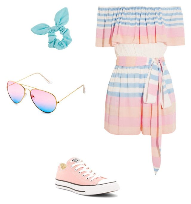 """""""Summer day"""" by zammalden on Polyvore featuring Mara Hoffman, Converse and Dorothy Perkins"""