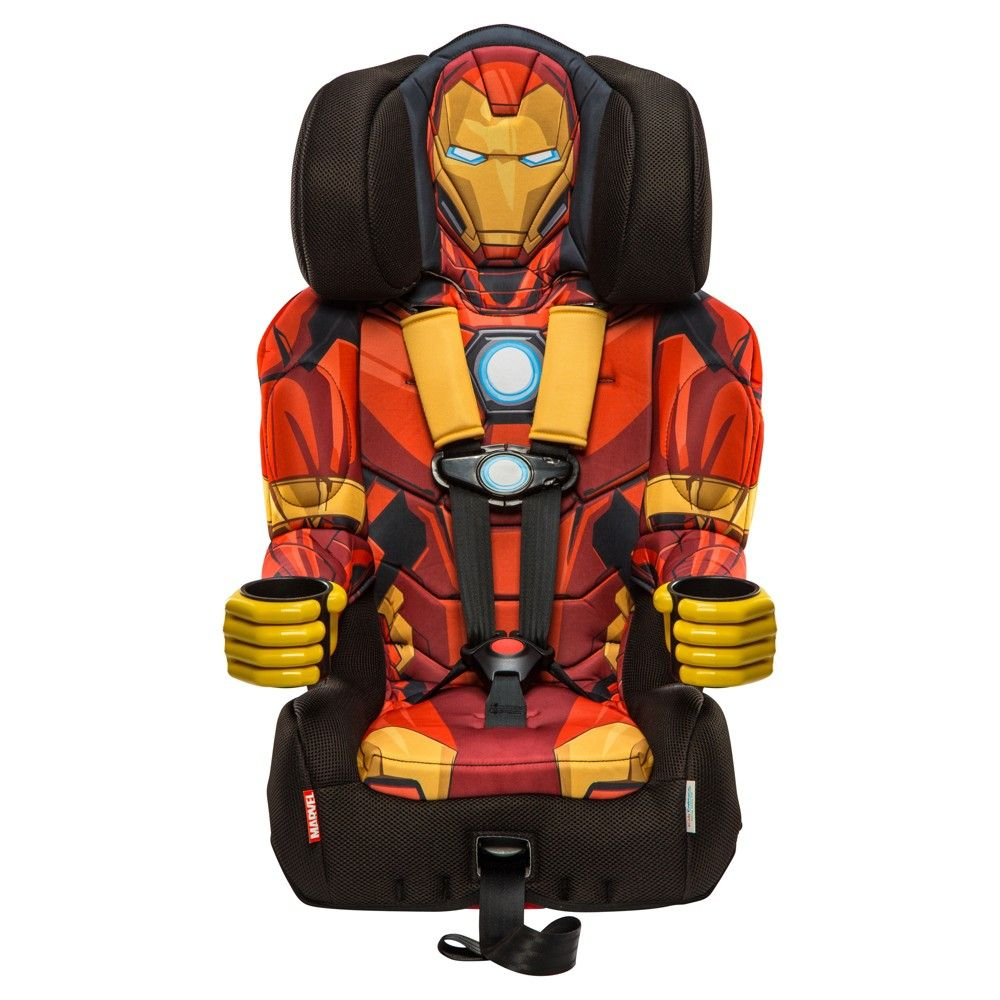 Car Seat Booster Chair DC Comics Combination 5 Point Harness w Cape Boy NEW