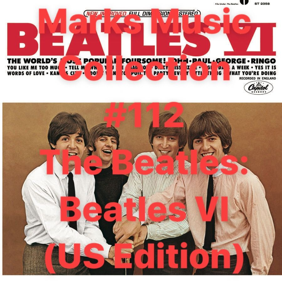 Marks Music Collection 112 The Beatles Beatles IV (US