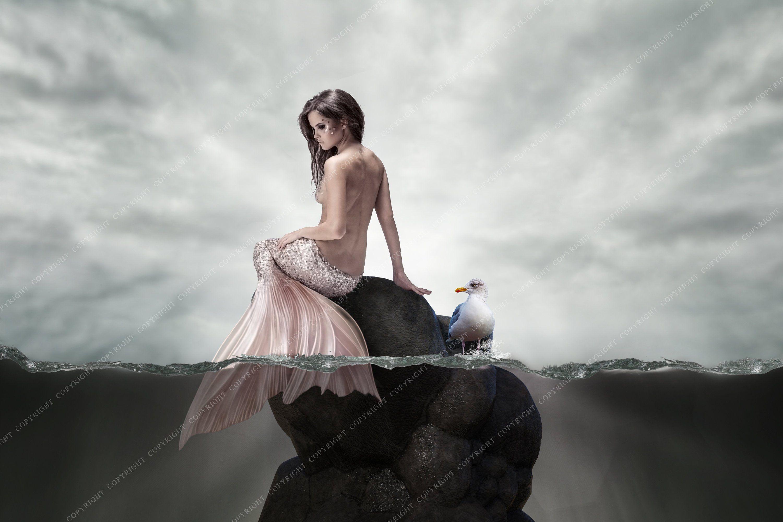 Mermaid Backdrop Background / Fantasy Backdrop for photographers / Magical Backdrop For Photographers / Fairytale Background /