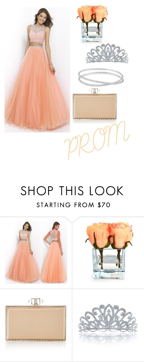 """""""Prom"""" by clairepardoo ❤ liked on Polyvore featuring Emilio Robba, Judith Leiber, Bling Jewelry and Maison Margiela"""