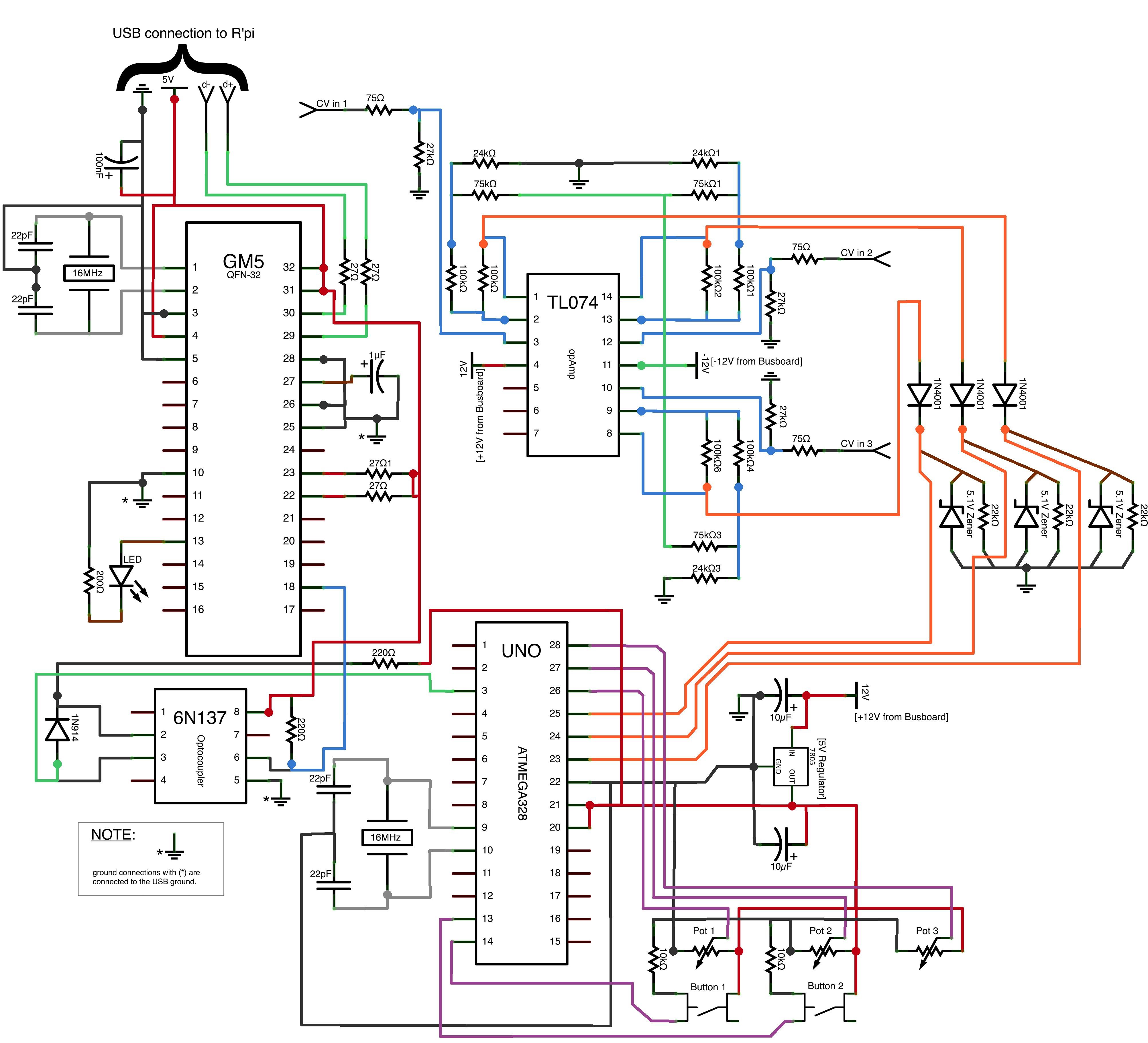 Cv To Midi Arduino Floor Plans Diagram