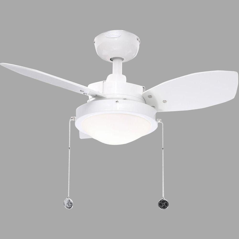 Westinghouse wengue in indoor white finish ceiling fan white