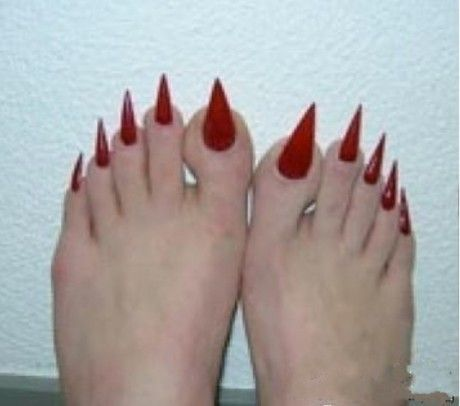 Image result for ugly pedicure