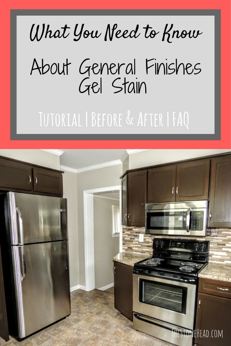 General Finishes Gel Stain   Staining cabinets, Redo ...