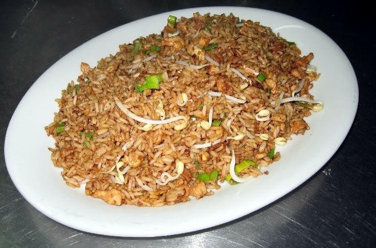 ^^  Comida china - Arroz salteado con pollo