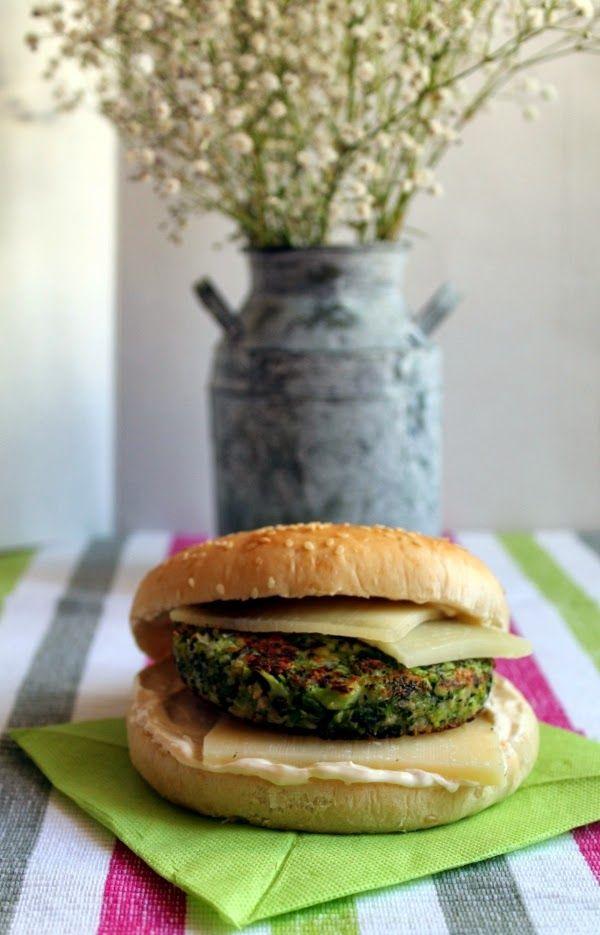 Broccoli burger recipe