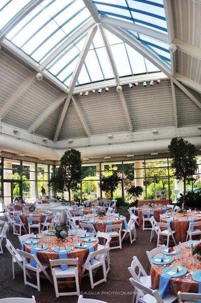 See The Atrium At Meadowlark Botanical Gardens On Weddingwire