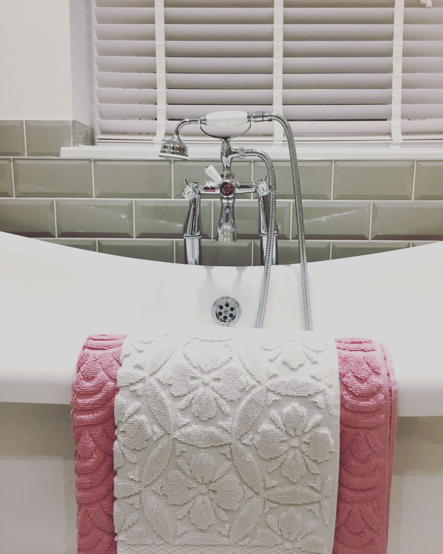 Homesense towels. Victorian plumbing. Bath taps. Bath. Freestanding ...