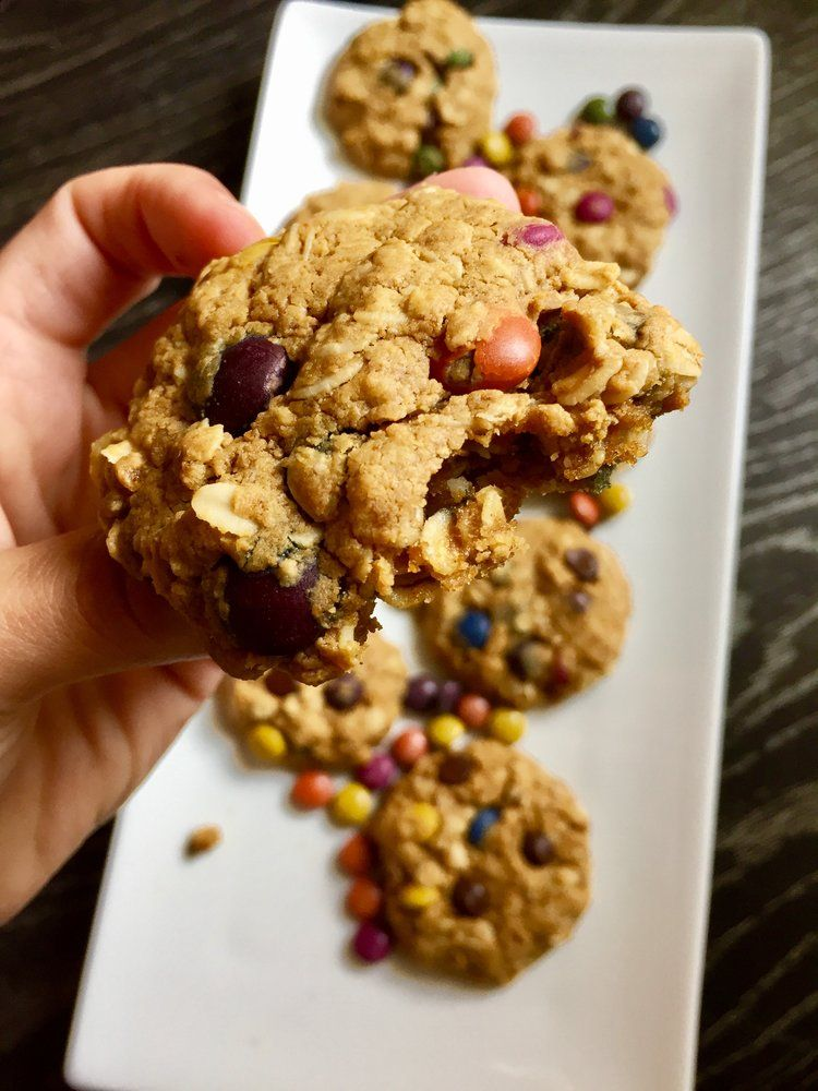 Monster Cookies Lower carb meals, Chocolate chia pudding
