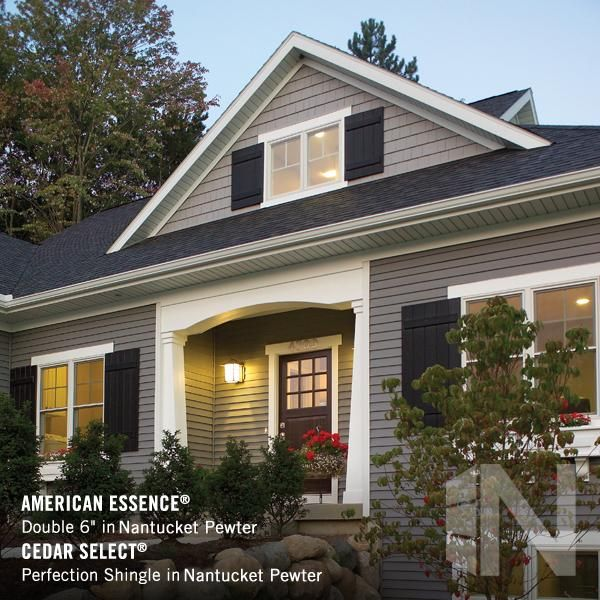 What Great Homes Are Wearing Tm Napco R By Ply Gem Offers Quality Vinyl And Aluminum Siding Polymer Vinyl Siding House Vinyl Exterior Siding House Exterior