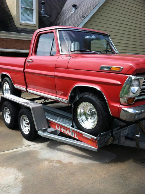 Jeff Woods & his '68 Ford | Built Ford Tough Trucks | Lmc truck