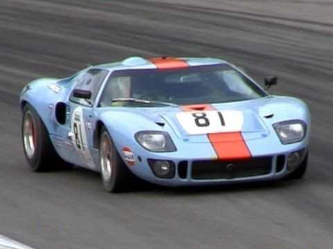 Gulf Racing Ford Gt Mk Sound On The Track