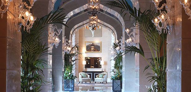 Corridor In The Royal Bridge Suite Atlantis The Palm Dubai