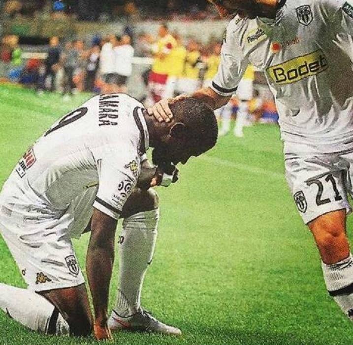 But Camara 4' Angers sco vs Montpellier. 1er match , 1er