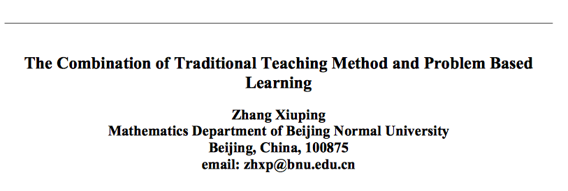 disadvantages of traditional teaching methods