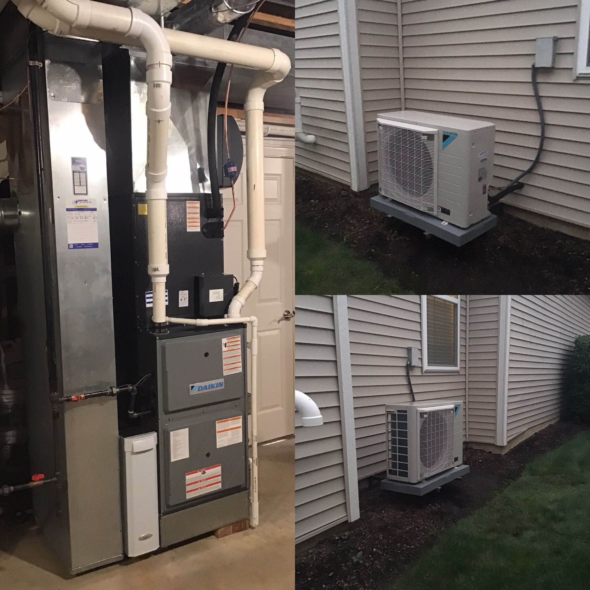 Daikin Fit And Modulating Furnace Heating And Air Conditioning
