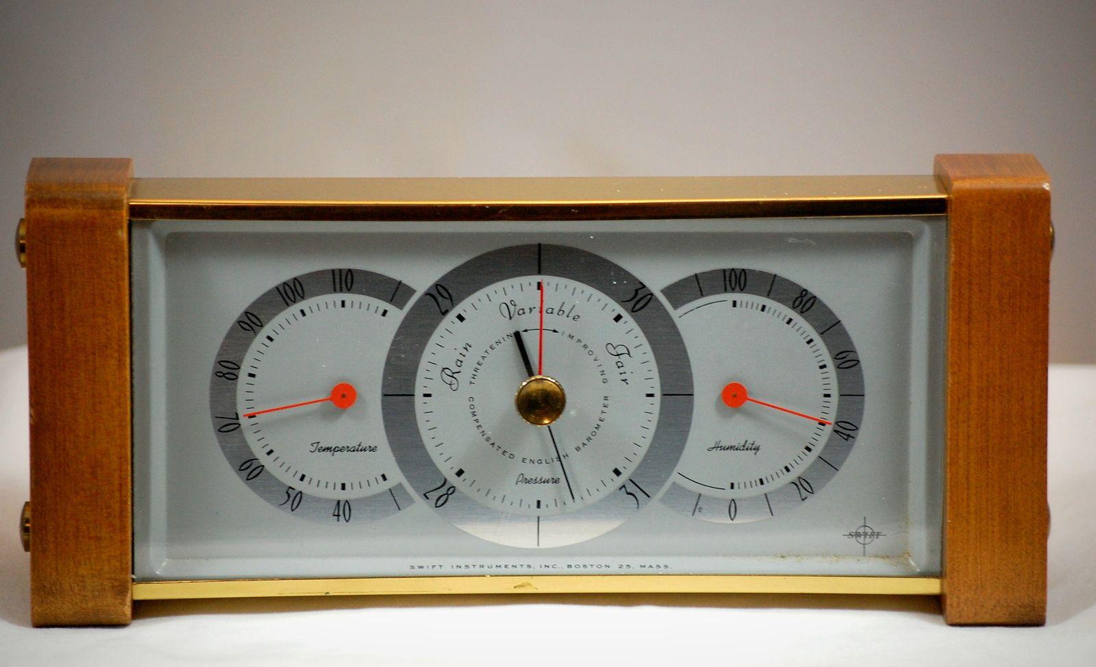 Desk Top Swift International Weather Station Hygrometer