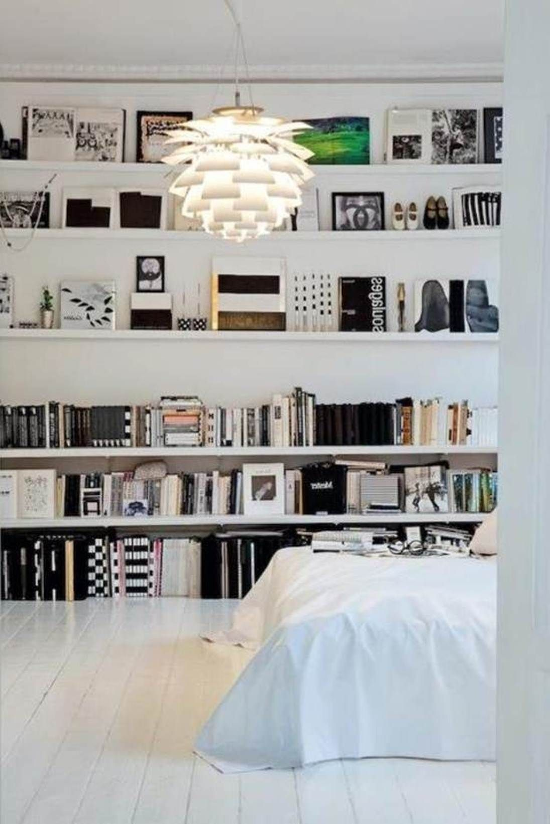Shelving Storage Ideas For Small Bedrooms : Space Saving Storage ...