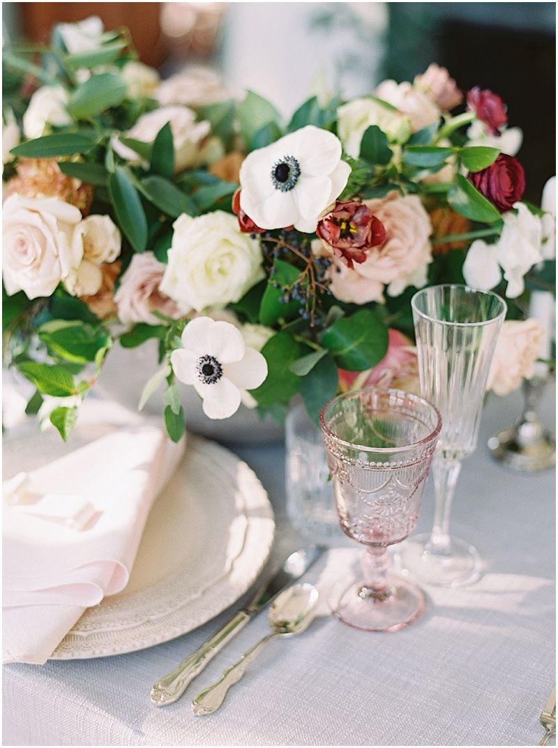 Misselwood Estate Wedding Pink And White Table Setting Blush And Greenery Wedding Flowers A Blush White A Misselwood Weddings Wedding Letterpress Design