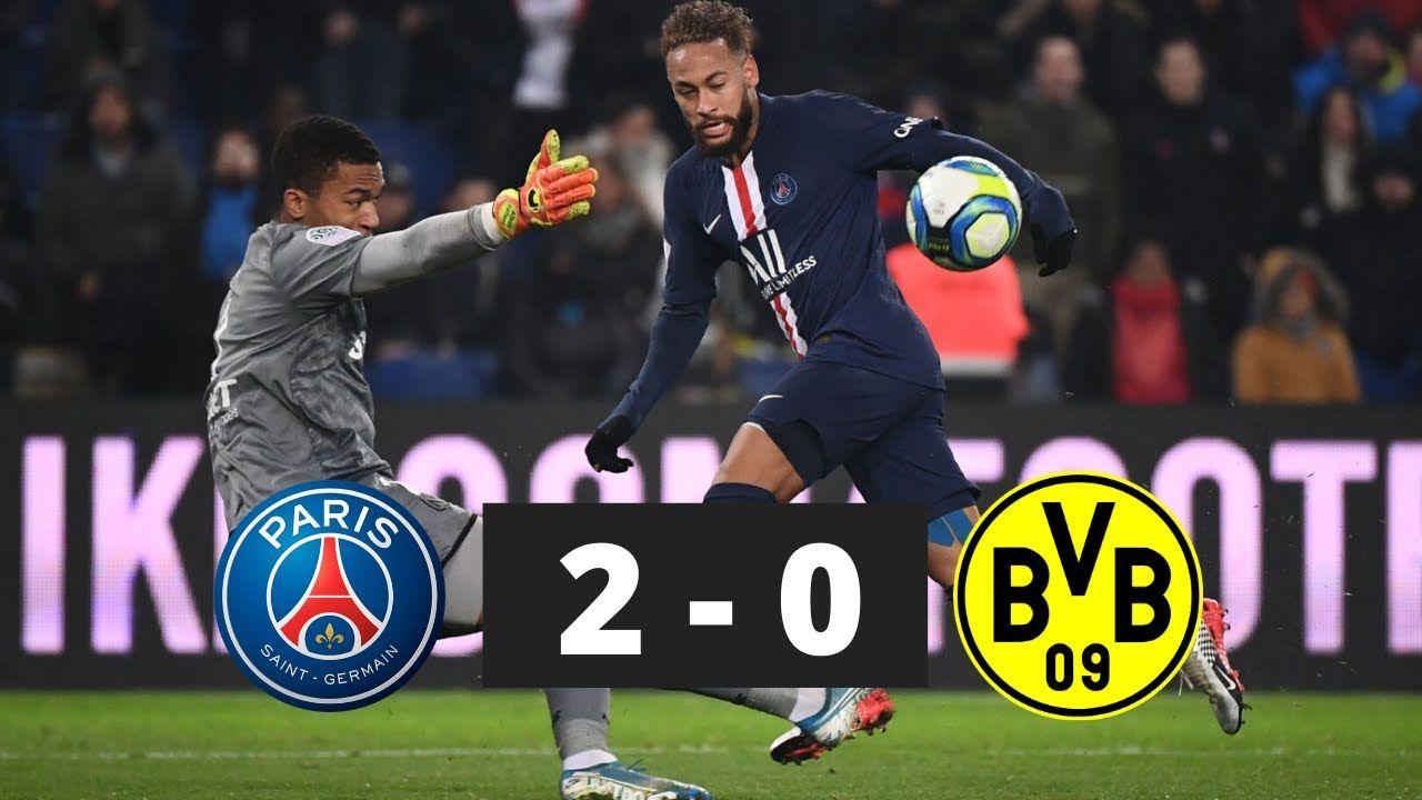 UEFA Champions League Highlights PSG vs Dortmund 2−0