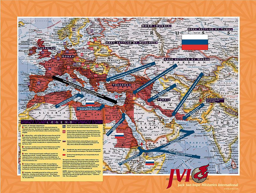 Middle East Invasion Map and Legend Bible Pinterest Middle