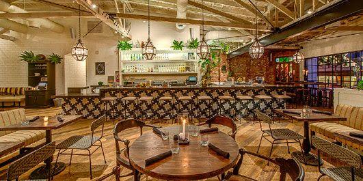 Gracias Madre Mexican Patio Melrose Restaurant Patio Mexican Patio La Restaurants