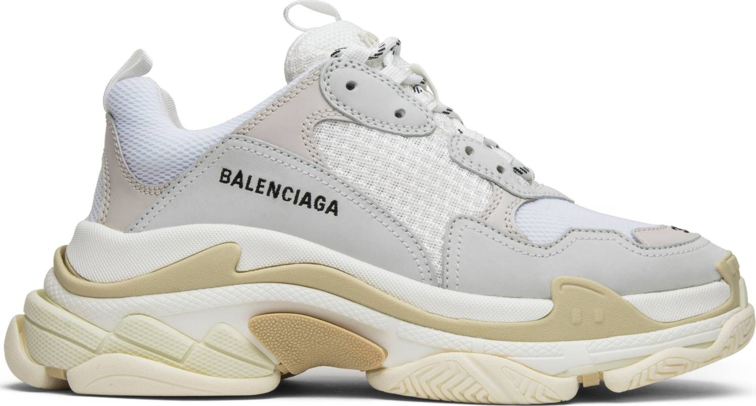 Balenciaga Wmns Triple S Trainer 'White' in 2019