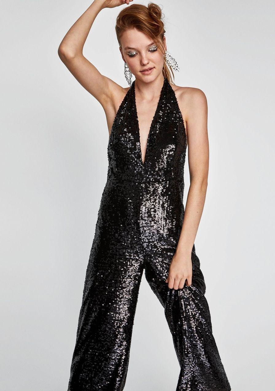Jumpsuit Weihnachten.Silvester Outfit 40 Pailletten Pieces Zum Shoppen Petra S