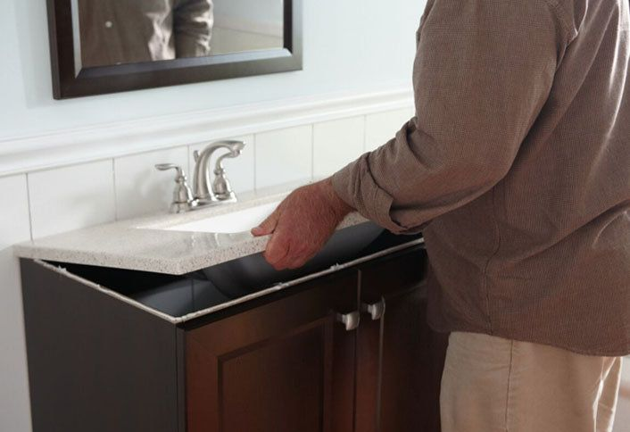 How To Install A Bathroom Vanity At The Home Depot At The Home Depot - How much to install bathroom vanity