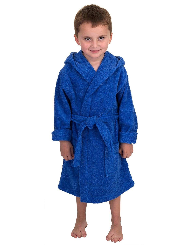 Boys Robe - Kids Hooded Cotton Terry Bathrobe - Made in Turkey - Blue -  C711OOVMGV9 - Boys' Clothing, Sleepwear & … | Boys clothes style, Clothes,  Childrens clothes