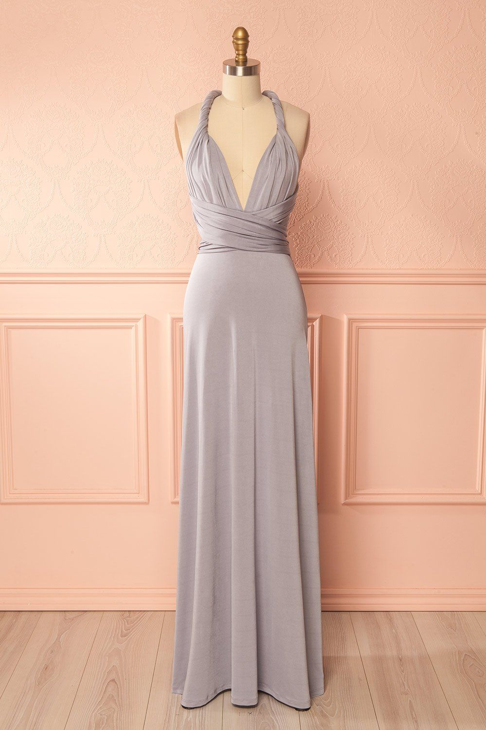 65d3646dcd Nela Gris  boutique1861   Explore your creativity with this evening gown  featuring a shimmering color and a silky