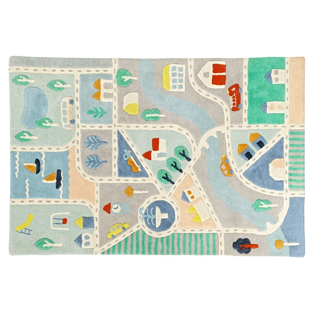 prestige childrens road kids floors roads city mat sale baby rug play tracks
