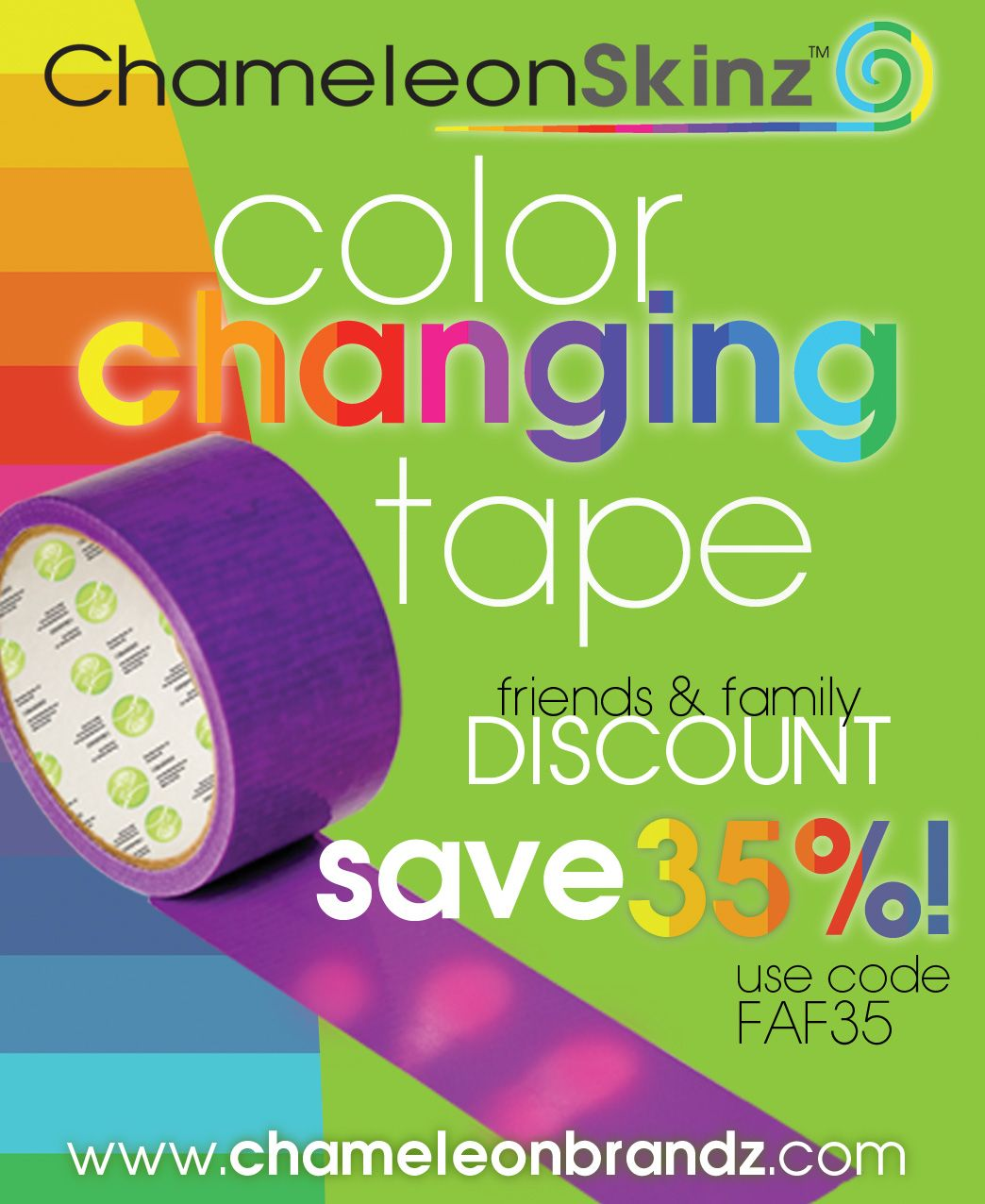 color changing tape discount!