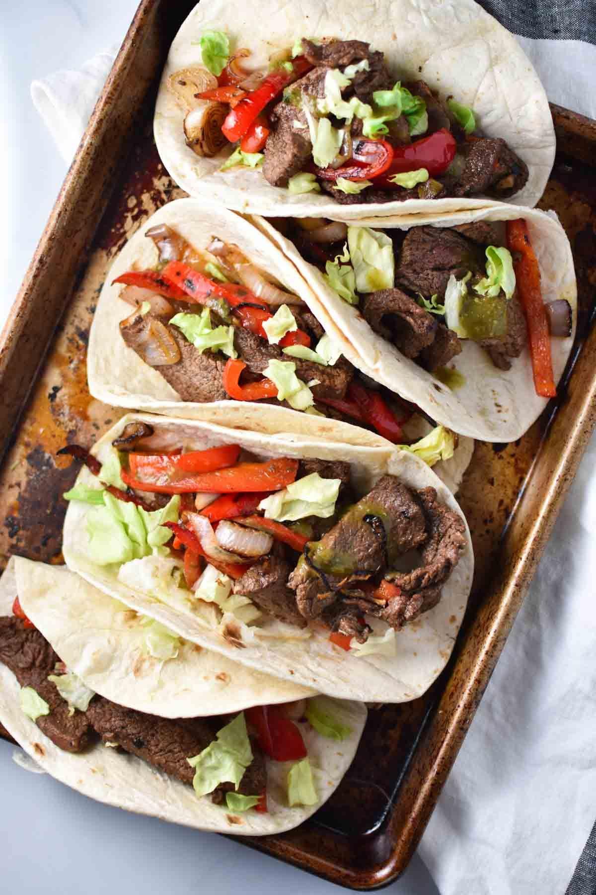 Steak Fajitas (MSG Free) #steakfajitarecipe