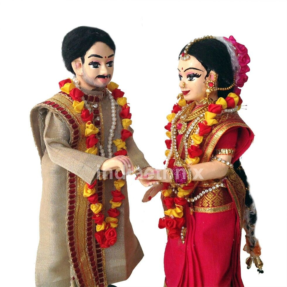 Indian handmade doll couples doll indian dolls