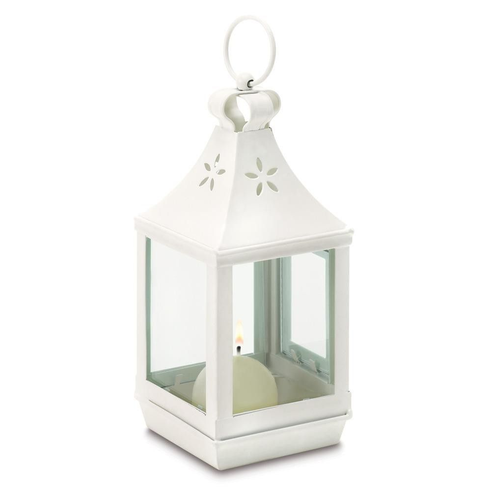 Cutwork Garden Candle Lantern - Small