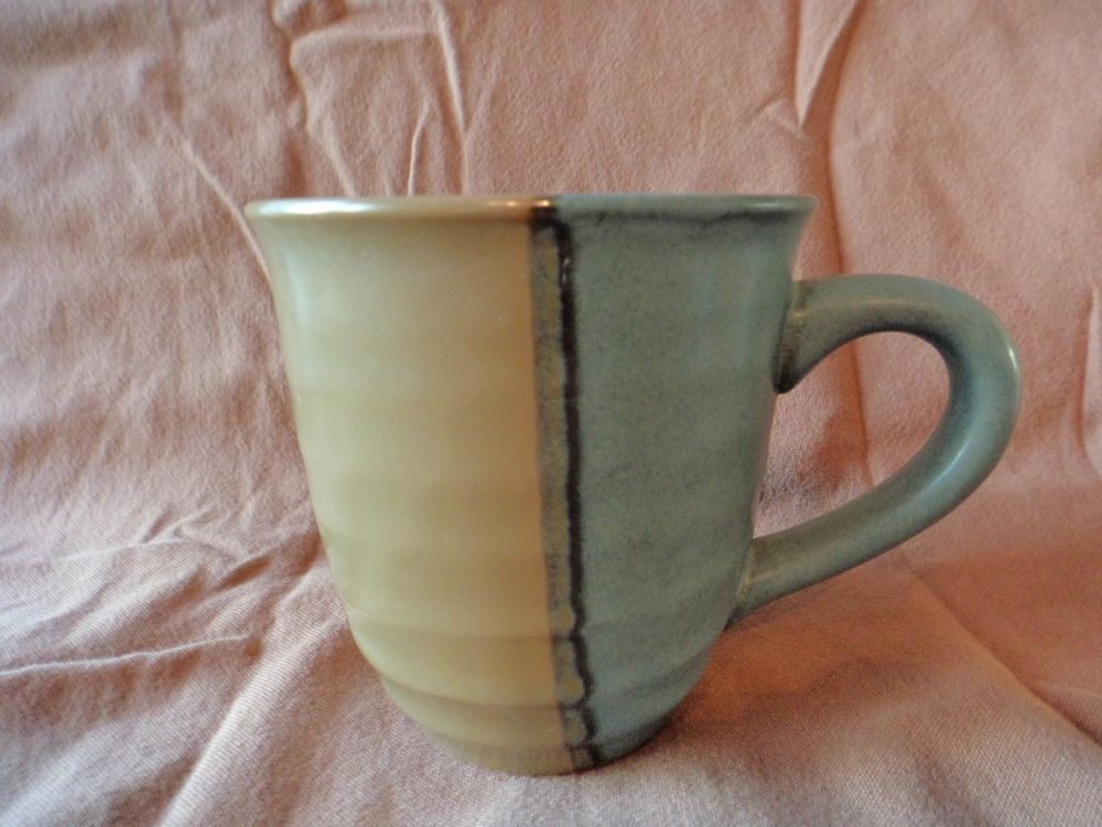 Details about Sango Gold Dust Green Mug Made in China | Green mugs ...