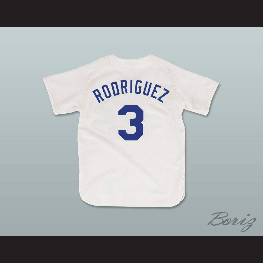 Benny  The Jet  Rodriguez 3 Pro Career Baseball Jersey The Sandlot. STITCH  SEWN GRAPHICS CUSTOM BACK NAME CUSTOM BACK NUMBER ALL SIZES AVAILABLE  SHIPPING ... 225ab4a1a