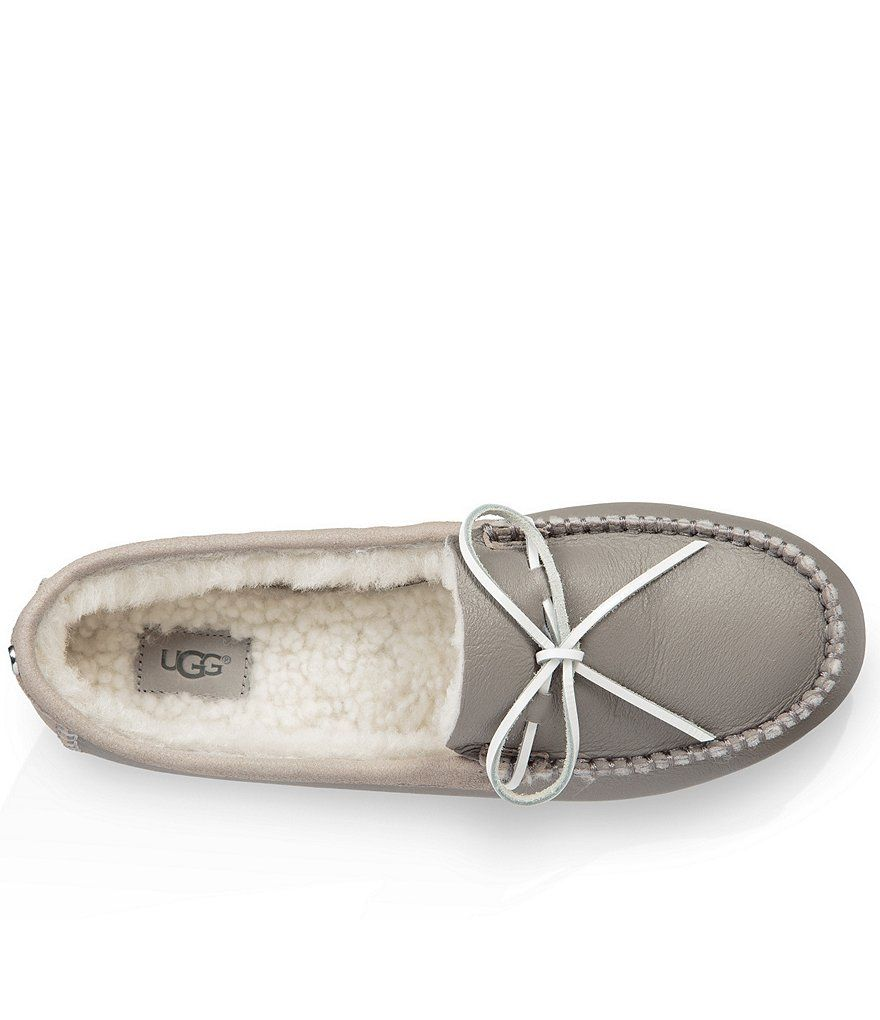 90261aa223d UGG® Deluxe Faux Fur Leather Loafers in 2019