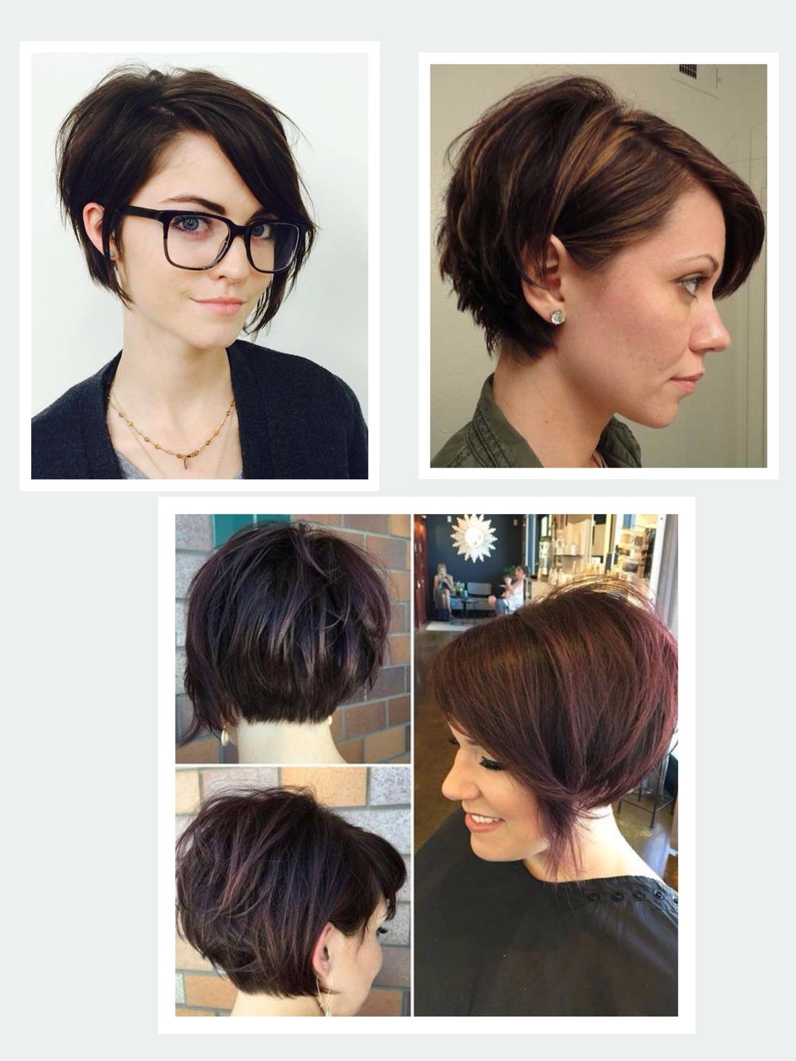 Visual styles  Cute hairstyles for short hair, Hair styles, Short