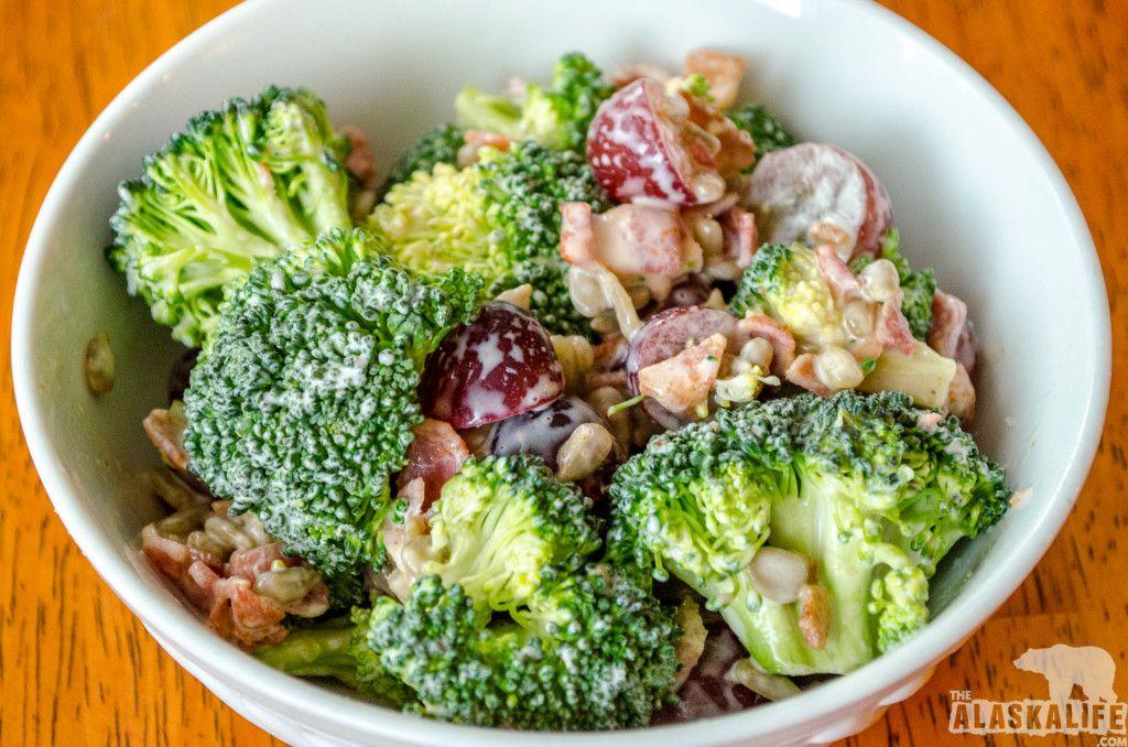 Garden fresh broccoli salad fresh broccoli broccoli