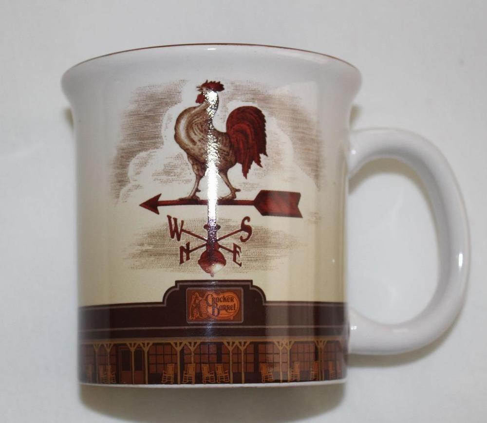 Cracker Barrel Rooster Mug | Rooster Coffee & Tea Pots | Pinterest