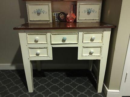 Gumtree Perth Credenza : Shabby chic desk dressers drawers gumtree australia gosnells