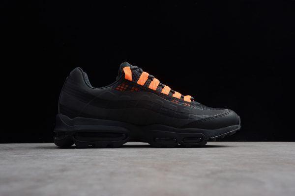 detailed look 419c8 b3469 Nike Air Max 95 Ultra SE Black Total Orange Mens Size-5