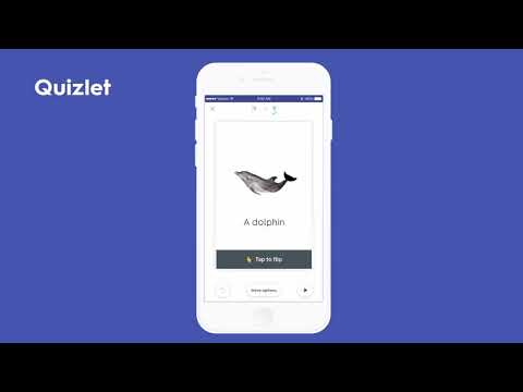 Quizlet swipe studying feature YouTube